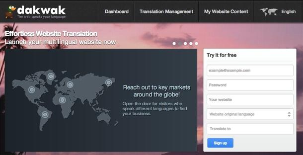 Dakwak Homepage